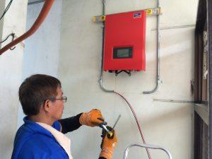 Onduleur installation photovoltaique